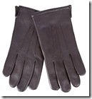 Fleece Lined Leather Gloves