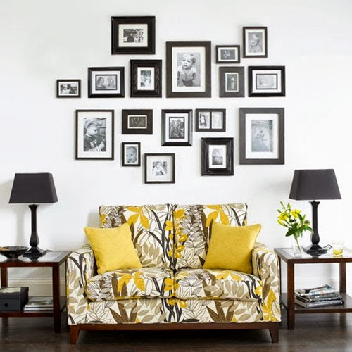 Family Photograph Gallery Wall