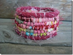 pink multicolor bracelet
