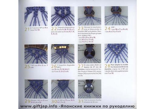 Micro-macrame, de la dentelle aux bijoux Marie Le Sueur