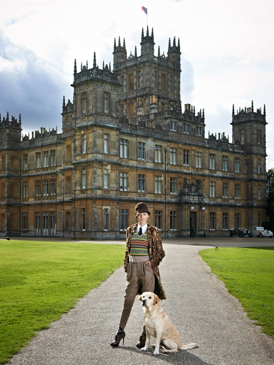 ralph lauren downton abbey highclere castle valentina zelyaeva