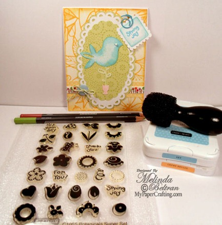 close to my heart card project idea stamp inks 500