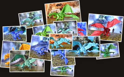 View Origami Dragons