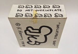 Radiant Inflatable Baby by Keith Haring for Pop Shop NYC box side