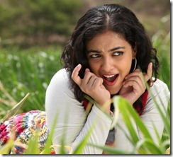 Nithya Menon At Okkadine New Movie Stills