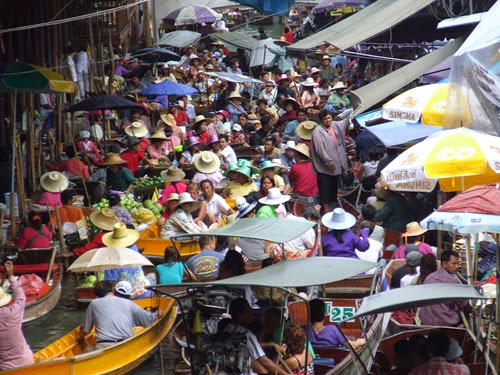 Damien Sadouk Floating Market