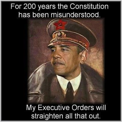 obama constitution executive orders