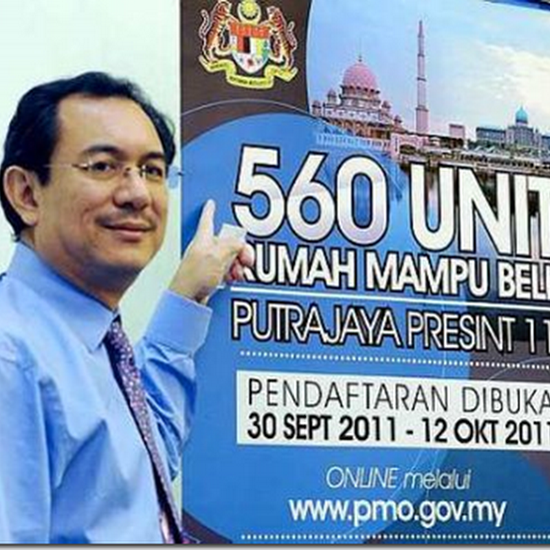 Rumah mampu beli di Putrajaya