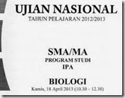 un biologi SMA