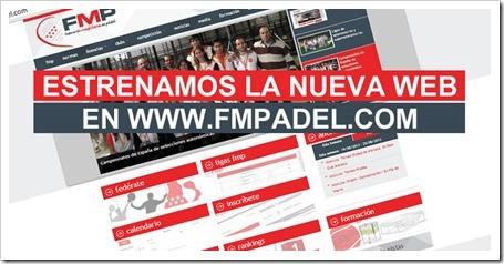 La FMP estrena web y nuevas secciones. Toda la información a golpe de click.