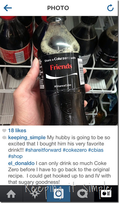#shop #shareitforward #shareacoke