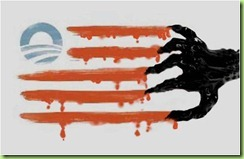 obama&#39;s new flag resist we much