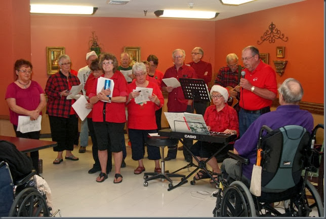 LA-Betty's-Christmas caroling at Nursing homes 2