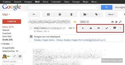 Revisar tu correo gmail en un solo clic