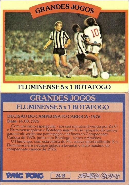24-B - Fluminense 5x1 Botafogo