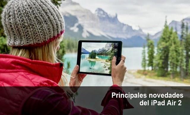 Principales características del iPad Air 2
