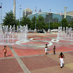 Choreographed fountain show at Centennial Olympic Park