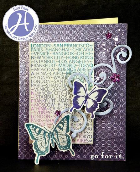 Pastel Encouragement Card