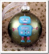 Little Robot Ornament