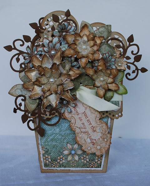 Flower pot card 4