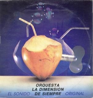 Orquesta La Dimension De Siempre  Sonido Original  LP Front