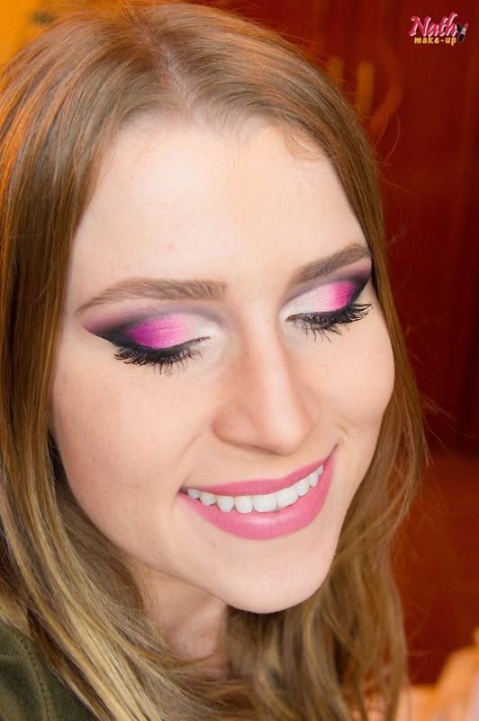 maquiagem com batom rsoa
