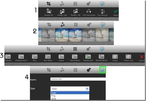 Social Media Image Maker strumenti modifica foto copertina