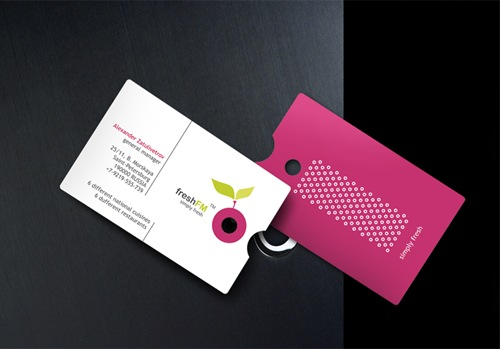 Unusual Business Card Design Examples