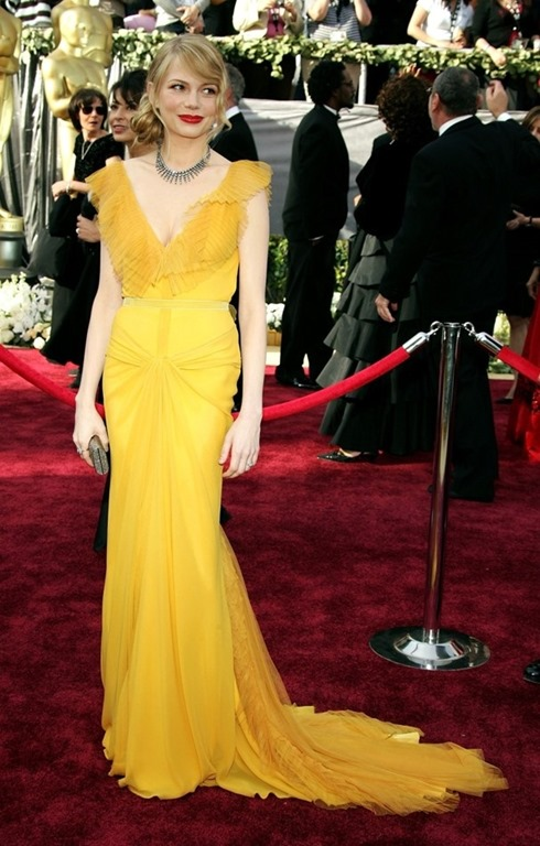 yellow michelle williams