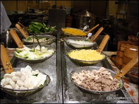 Marriott Café's Teppanyaki Station