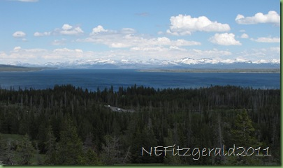 Yellowstone LakeFrom Overlook Trail