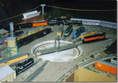 01 LK&R Layout at the 1997 Great Train Swap Meet in Vancouver, Washington