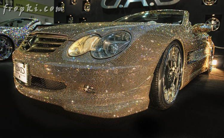 Diamond Covered Mercedes of Prince Waleed for $4.8 Million Car