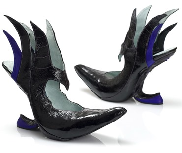 Kobi Levi DIsney Villian Heels - Maleficent sideview