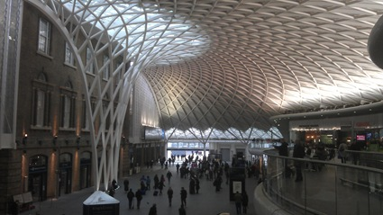 The 'new' Kings Cross station