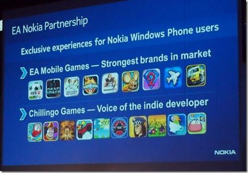 EA games WP7