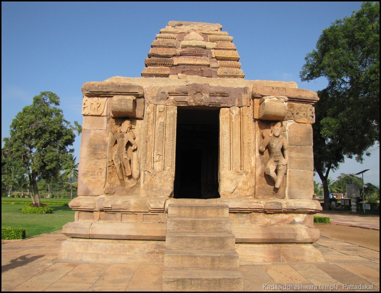 Kadasiddheshwara temple, Pattadakal