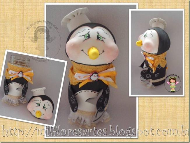 Vidro Pinguim