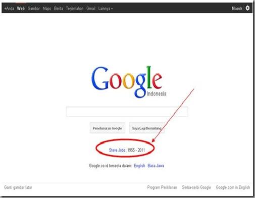 google untuk steve jobs