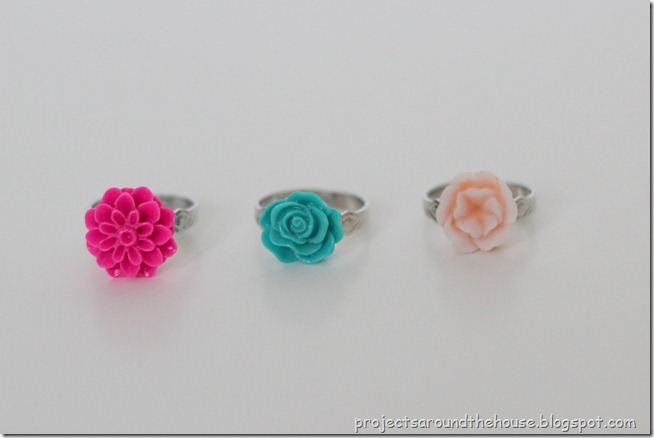 DIY cabochon jewelry rings