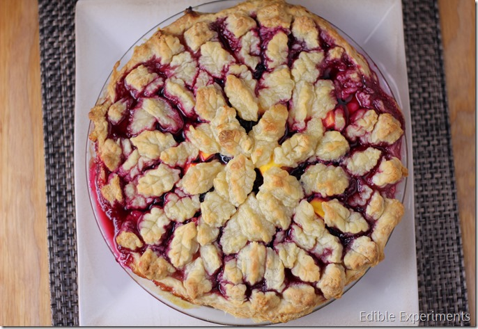 Blackberry Mango Pie