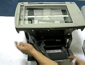 Fix HP 3300 3330 Scanner Bulb Warm Up Error (14)