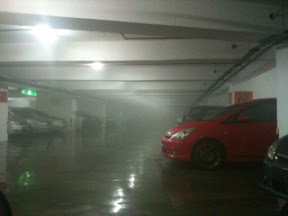 scary Genting parking