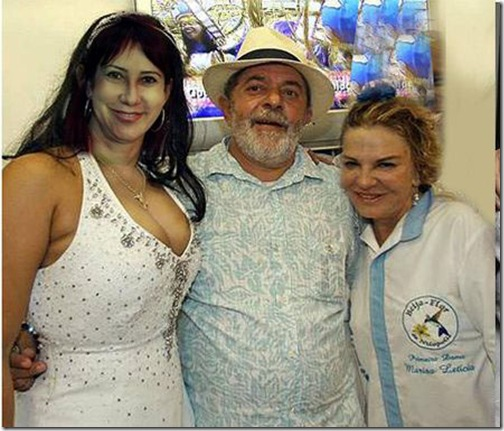 Rose, Lula e Marisa