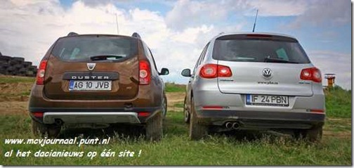 Dacia Duster vs VW Tiguan 03