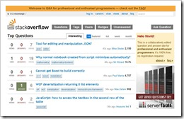 Stack Overflow a Question answer site for programmers