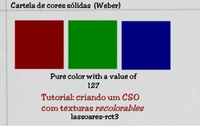 Cartela de cores sólidas (Weber) lassoares-rct3