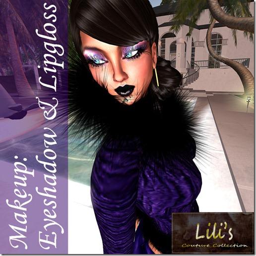 Lili's Purple Rain Eyeshadow & Lipgloss