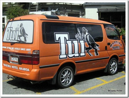 Good advertising for Tui Beer.