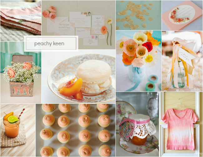 Peach Inspiration via homework